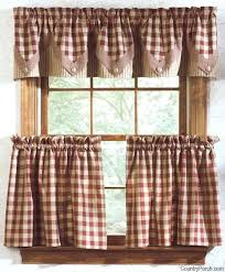 Primitive Swag Curtains Swag Kitchen Curtains Teawing Co