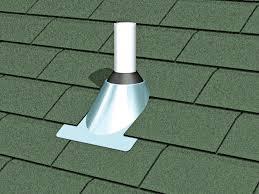 chimney pipe flashing materials