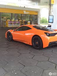 orange ferrari ferrari 458 speciale 17 may 2015 autogespot