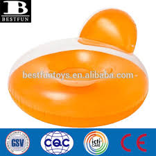 Blow Up Beach Chair by Top Quality Thickened Vinyl Inflatable Round Chair Pool Float