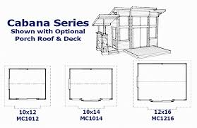Floor Plans For Sheds Mighty Cabanas And Sheds Pre Cut Cabins Sheds Play Houses