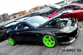 hyundai tiburon black hyundai tiburon black neon green rides styling
