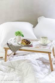 mother u0027s day breakfast in bed tray with decoupaged kids u0027 art so