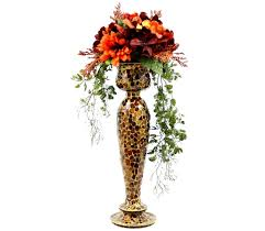 custom made wedding table centerpiece silk flower arrangement