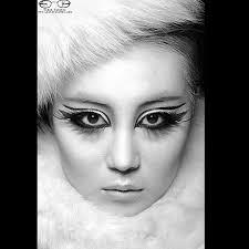beautiful eyes by make up artist humni park from mud studio new york photographer