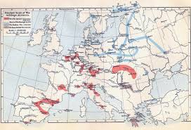 Map Northern Europe by Of The Wars In Europe 1700 1721