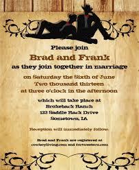 western wedding invitations templates 17 wedding invitation