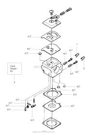 poulan craftsman 358 351082 gas chain saw parts diagrams