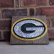 Home Decor Stores In Michigan Green Bay Packers String Art Home Decor Teachers Gift Football