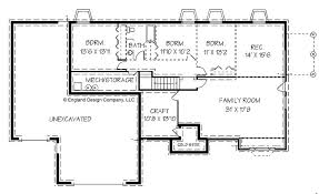 house plans with a basement exquisite design ranch house plans with basement dazzling ideas