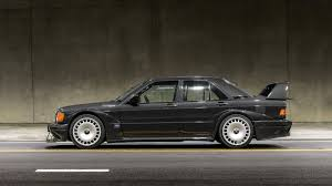 190e 1990 mercedes mercedes 190e evo ii auctioned in u s sells for big