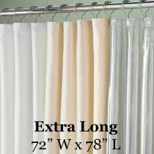 shower curtain liners fabric and peva vinyl shower liners