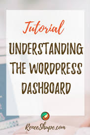 wordpress quick tutorial what is the wordpress dashboard your websites dashboard explained