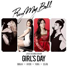 day ring girl s day ring my bell fanmade album cover by misscatievipbekah on