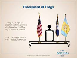 Hanging A Flag Vertically Marvelous Properly Display American Flag How To Properly Display
