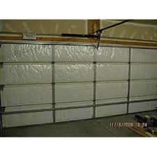garage door insulation kit diy r 9 complete garage insulation