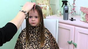 girls hair trim youtube