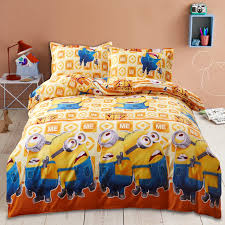 Mickey Mouse Bed Sets Home Textile 3d Minions Bedding Set Mickey Mouse Bed Linen