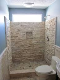 bathroom bricks and stone wall dividers square remodeling