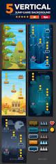 vertical halloween background set of 5 vertical game backgrounds game background game assets