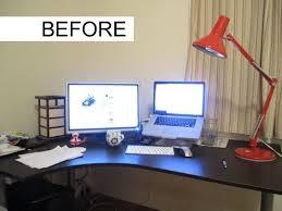 Computer Desk Setup Ideas Work Desk Setup Ideas Desk Ideas
