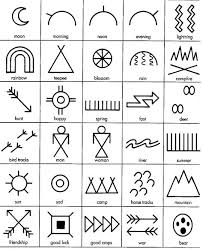 indianer spr che american indian symbols decor indianerin