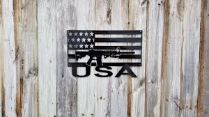 American Flag Words Ar15 Inside A Usa Flag With Usa Words At The Bottom Advanced