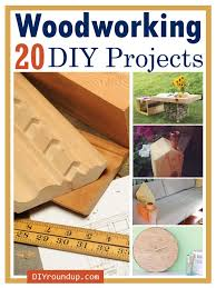 20 diy woodworking projects