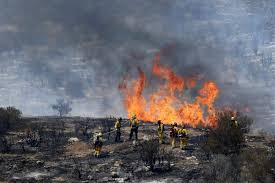 California Wildfire Dateline by Dry Windy Conditions Fan California Wildfire Nbc News