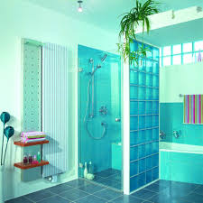 glass block designs for bathrooms bathroom exciting glass block walk shower innovate building