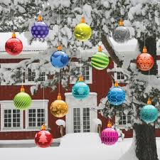 Rental Christmas Decorations Outdoor by Amazon Com Christmas Yard Decorations Traditional Hanging