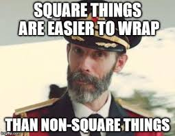 Wrapping Presents Meme - captain obvious imgflip