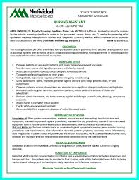 Resume Templates For Nurses Cna Resume Examples With Experience Resumes And Cvs Graduate