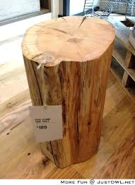 Log Side Table Log Bedside Table Do The Bedside Table Log Do The Real