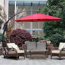 Large Rectangular Patio Umbrellas by 11 Best Large Cantilever Patio Umbrellas With Ideal Shade Coverage