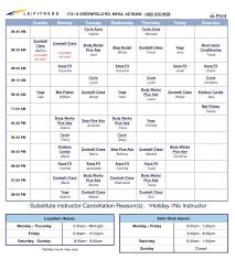 la fitness class schedule greenfield https www lafitness com