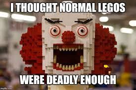 Lego Meme - killer clown lego lego week a juicydeath1025 event imgflip
