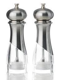 2 new york salt pepper mills m s