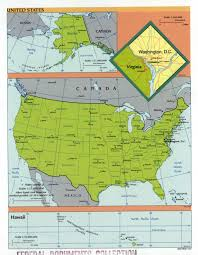 Political Map Of America by Large Scale Political And Administrative Map Of The Usa 2001