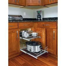 kitchen cabinet organization solutions cabinet organizers for kitchen rev a shelf 19 in h x 14 75 w 22 d
