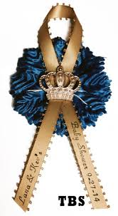 baby shower capias royal theme baby shower pin on with printed ribbon affordable