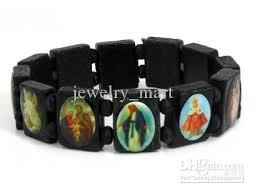 catholic bracelet 2018 saints catholic christian jesus wooden bracelets bangle all