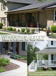 wheelchair ramp design specs for a more accessible porch