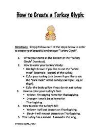thanksgiving turkey glyph divascuisine