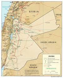 Map Of Isreal Of Israel Jordan And Palestine