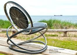 Rocking Chair George Jones Recycled Bike Rocking Chair Recycled And Repurposed Bikes And