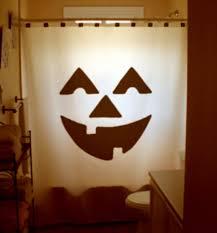 Halloween Bathroom Decor Scene Halloween Shower Curtain Kids Bathroom Decor Halloween