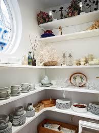 kitchen corner shelves ideas easy diy butler s pantry corner of a kitchen floating shelves