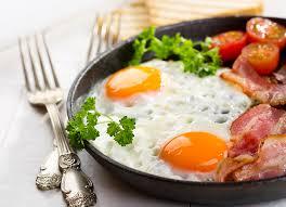 fond ecran cuisine fonds d ecran jambon oeuf sur le plat fourchette poêle cuisine