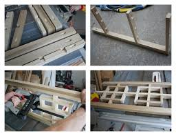 Diy Console Table Diy Fretwork Console Table Reveal View Along The Way